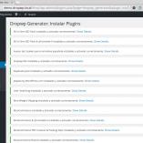 Dropwp Generator: Instalar